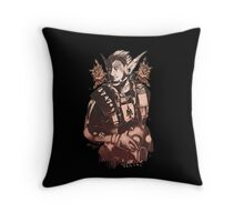 Commander Throw Pillow