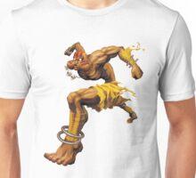 DHALSIM : Yoga Fire Unisex T-Shirt