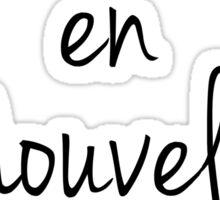 La Vie en Nouvelle Orleans (Life in New Orleans) Sticker