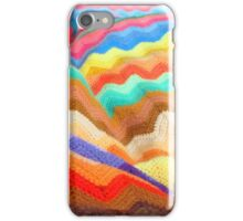 Rainbow knit iPhone Case/Skin