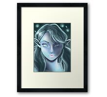 Frost the Snow Elf Framed Print