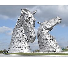 The Kelpies 381 Photographic Print