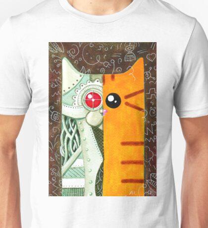 Robotic Cat Unisex T-Shirt