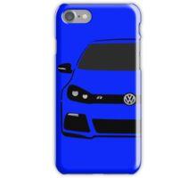 VW MK6 R Half Cut iPhone Case/Skin