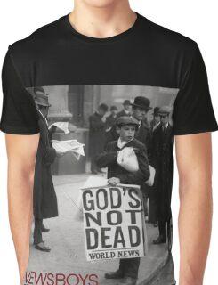 Newsboys We Believe God's Not Dead Tour 2016 AB4 Graphic T-Shirt