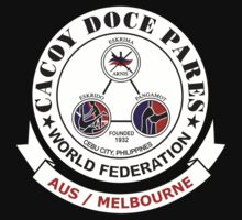 Cacoy Doce Pares Melbourne by Rob Bryant