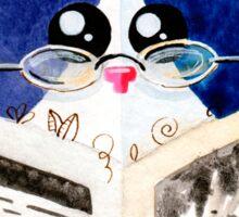 Smart Cat Sticker