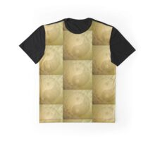 Yin and yang with gold dust Graphic T-Shirt
