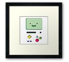 Adventure Time BMO Framed Print