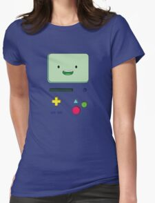 Adventure Time BMO Womens Fitted T-Shirt