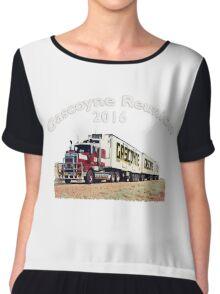 Gascoyne Reunion 2016 (Dark colored shirts) Women's Chiffon Top