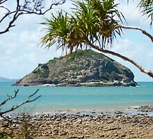 Bluff Rock, Capricorn Coast, Q'ld - Australia.  by Margaret Stanton