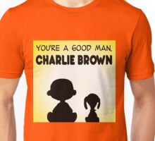 CHARLIE BROWN GOOD MAN PEANUTS Unisex T-Shirt