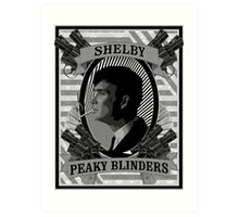 Thomas Shelby Peaky Blinders Art Print