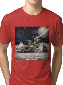Vintage Sci-Fi Tri-blend T-Shirt