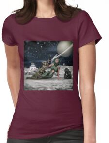 Vintage Sci-Fi Womens Fitted T-Shirt