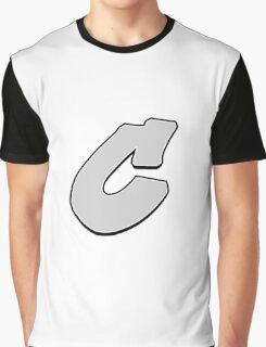 Letter C Graphic T-Shirt