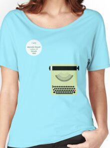 Nizzoli_Lettera22_1/2 Women's Relaxed Fit T-Shirt
