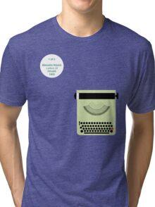 Nizzoli_Lettera22_1/2 Tri-blend T-Shirt
