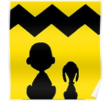 CHARLIE BROWN PEANUTS YELLOW Poster