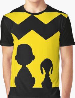 CHARLIE BROWN PEANUTS YELLOW Graphic T-Shirt
