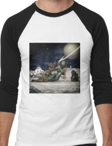 Vintage Sci-Fi 2 Men's Baseball ¾ T-Shirt