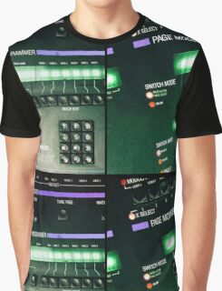 Oberheim Xpander Panels Graphic T-Shirt