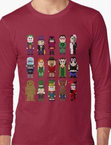 8-Bit Super Heroes: ROGUES! Long Sleeve T-Shirt