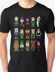8-Bit Super Heroes: ROGUES! Unisex T-Shirt