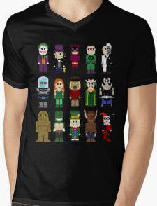 8-Bit Super Heroes: ROGUES! Mens V-Neck T-Shirt