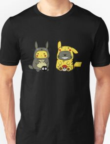 totoro and pikachu Unisex T-Shirt