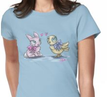 Springtime Friends Womens Fitted T-Shirt