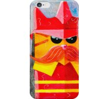 Cat Fireman iPhone Case/Skin