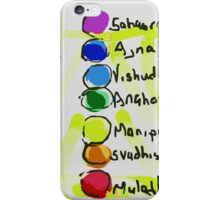 Chakras iPhone Case/Skin