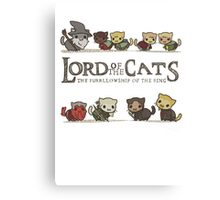 lord of the cat Canvas Print