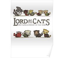lord of the cat Poster