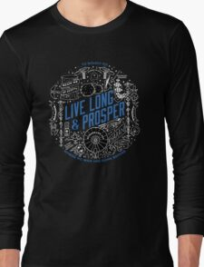 live long and prosper by remi42 Long Sleeve T-Shirt