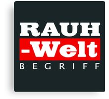 RAUH-WELT BEGRIFF : GIFT Canvas Print