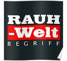 RAUH-WELT BEGRIFF : GIFT Poster