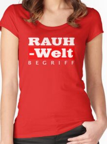 RAUH-WELT BEGRIFF : GIFT Women's Fitted Scoop T-Shirt