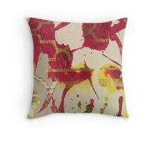 Abstract 419G Throw Pillow