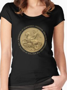 St. George Women's Fitted Scoop T-Shirt