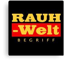 RAUH-WELT BEGRIFF : GOLD Canvas Print
