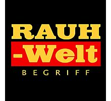 RAUH-WELT BEGRIFF : GOLD Photographic Print