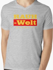 RAUH-WELT BEGRIFF : GOLD Mens V-Neck T-Shirt