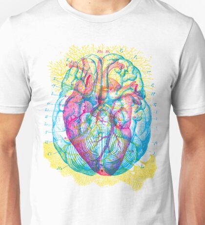 Brain Heart Circulation Unisex T-Shirt