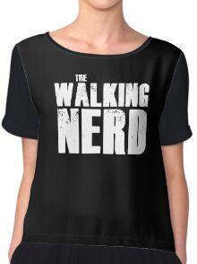 The Walking Nerd Chiffon Top