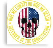 Give Me Liberty Canvas Print