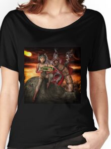 Vintage Sci-Fi 4 Women's Relaxed Fit T-Shirt
