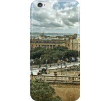 Malta top view iPhone Case/Skin